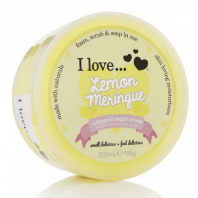I Love Cosmetics Whipped Sugar Scrub Lemon Meringue 200 ml