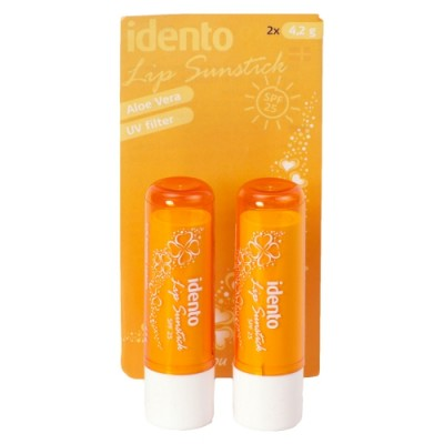 Idento Lip Sunstick SPF25 2 st