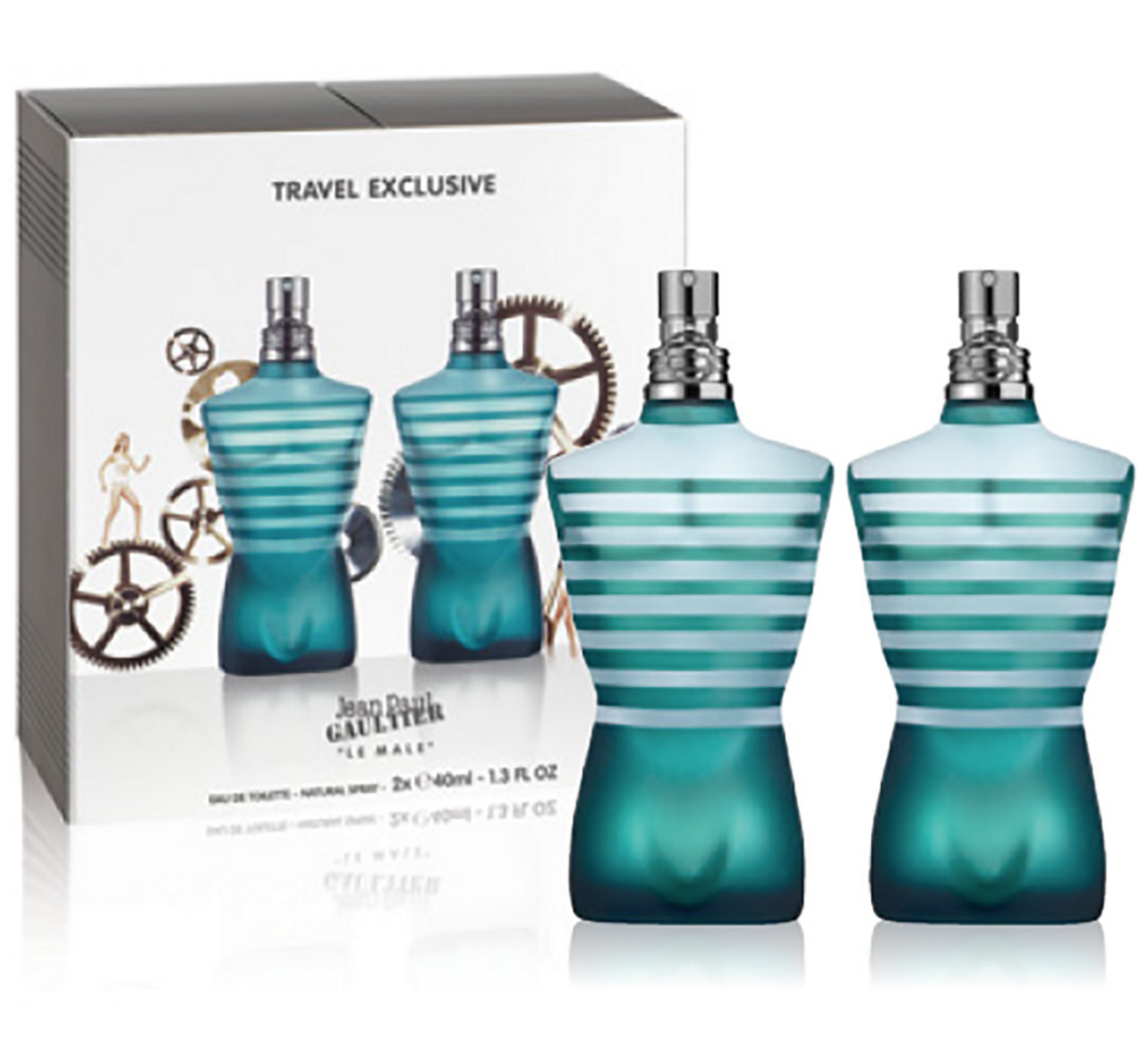 Wonderbaar Jean Paul Gaultier Le Male 2 x 40 ml - £38.95 GI-72