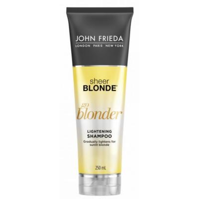 John Frieda Sheer Blonde Go Blonder Lightening Shampoo 250 ml