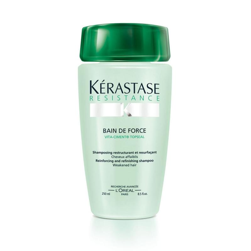 Kerastase resistance bain de force topseal shampoo 250 ml for Kerastase bain miroir 2 shampoo
