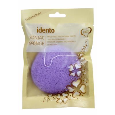 Konjac Runder Gesichtsschwamm Lavendel 1 stk
