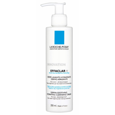 Image of   La Roche-Posay Effaclar H Derma-Soothing Hydrating Cleansing Cream 200 ml