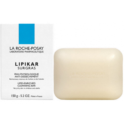 Image of   La Roche-Posay Lipikar Surgras Cleansing Bar 150 ml