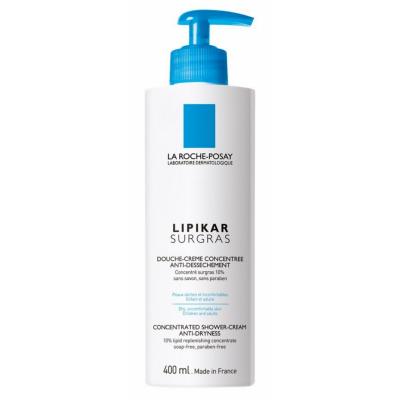 Image of   La Roche-Posay Lipikar Surgras Concentrated Shower Cream 400 ml