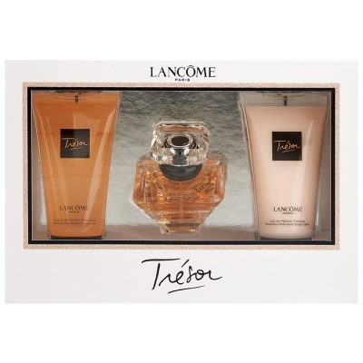 Lancôme Tresor EDP & Body Lotion & Showergel 30 ml + 50 ml + 50 ml