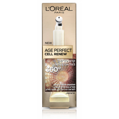 Image of   L'Oreal Age Perfect Cell Renew Eyes 360 15 ml