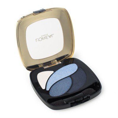 Image of   L'Oreal Color Riche Quad Eyeshadow E8 Eternal Blue 2,5 g