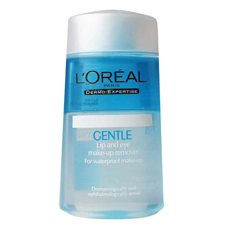 Lu0026#39;Oreal Dermo-Expertise Gentle Eye u0026 Lips Make-up Remover ...