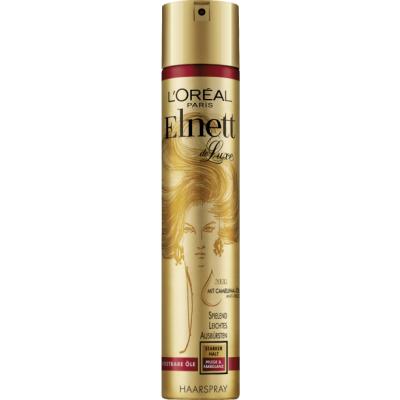 Image of   L'Oreal Elnett Hairspray Precious Oils 300 ml