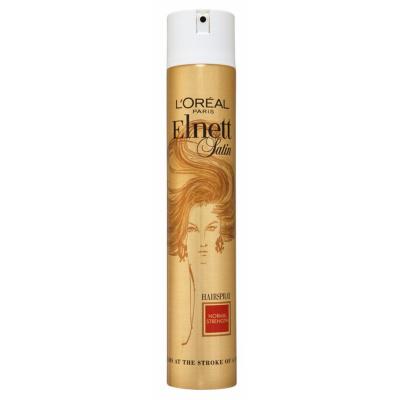 Image of   L'Oreal Elnett Satin Hairspray Normal Hold 400 ml