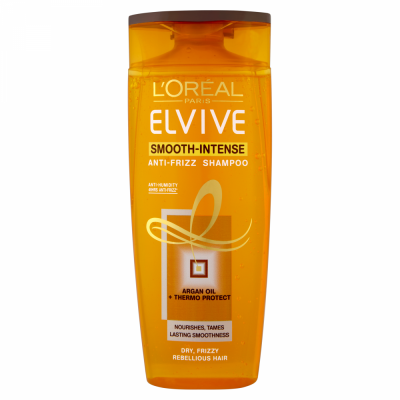 Image of   L'Oreal Elvive Smooth-Intense Anti-Frizz Shampoo 250 ml