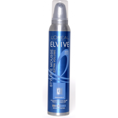 Image of   L'Oreal Elvive Styliste Mousse Extra Volume 200 ml