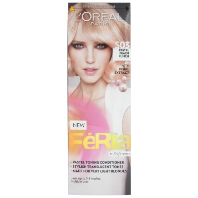Image of   L'Oreal Feria Pastel Peach Punch S03 1 stk