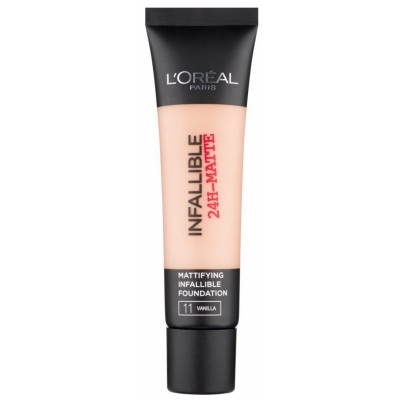 L'Oreal Infallible 24H Matte Foundation 11 Vanilla 35 ml