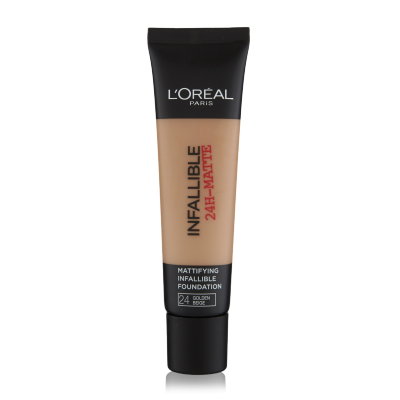 L'Oreal Infallible 24H Matte Foundation 24 Golden Beige 35 ml