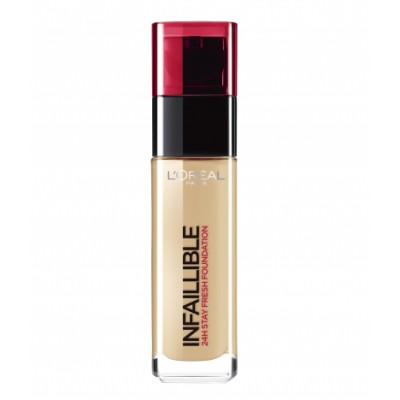 L'Oreal Infallible 24H Stay Fresh Foundation 200 Golden Sand 30 ml