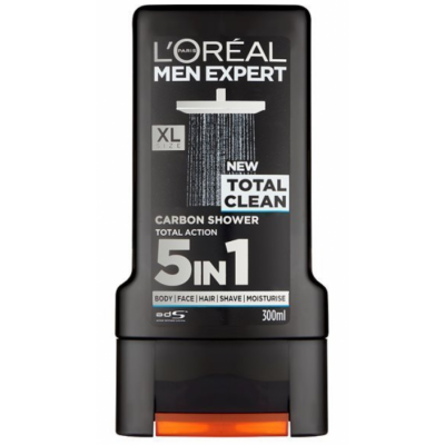 L'Oreal Men Expert Shower Gel Total Clean 300 ml