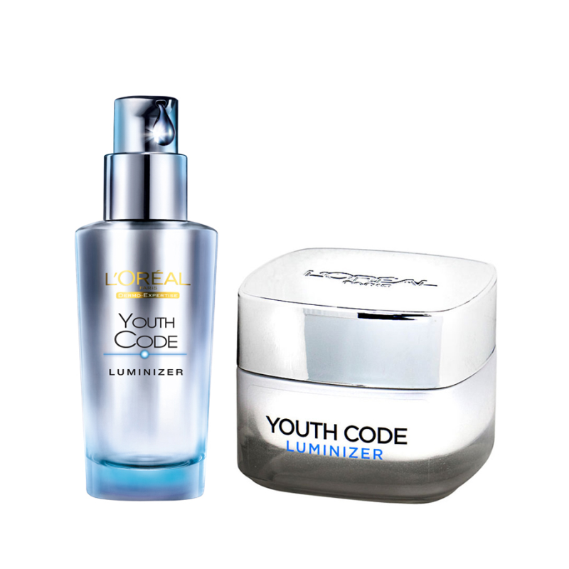 LOreal Youth Code Luminizer Dagcreme Amp Serum 50 Ml 30