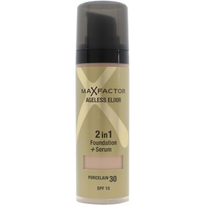 Image of   Max Factor Ageless Elixir 2 in 1 SPF15 - 30 Porcelain 30 ml