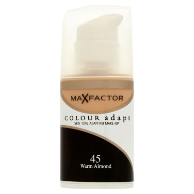 Image of   Max Factor Colour Adapt 45 Warm Almond 34 ml