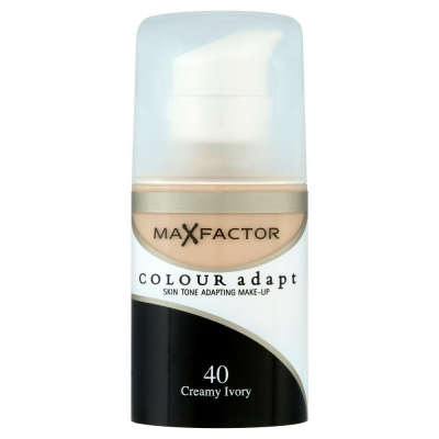 Image of   Max Factor Colour Adapt 40 Creamy Ivory 34 ml