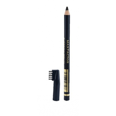 Image of   Max Factor Eyebrow Pencil 01 Ebony 4 g