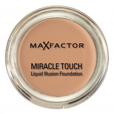 Max Factor Miracle Touch Liquid Illusion Foundation 45 Warm Almond 11,5 g
