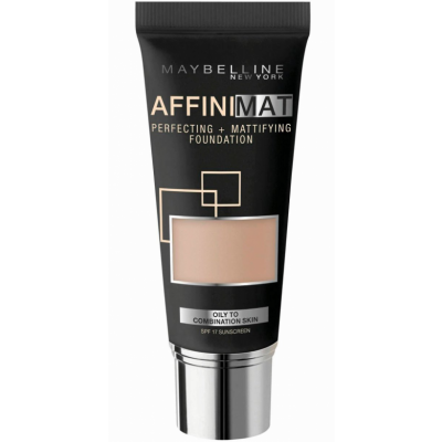 Image of   Maybelline Affinimat Mattifying Foundation 17 Rose Beige 30 ml