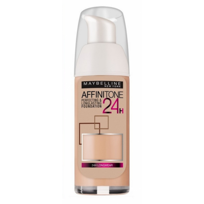 Image of   Maybelline Affinitone 24H Foundation 05 Light Beige 30 ml