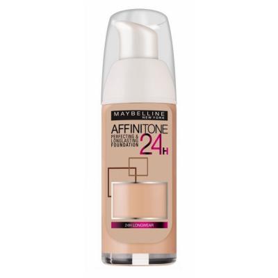 Image of   Maybelline Affinitone 24H Foundation 21 Nude 30 ml
