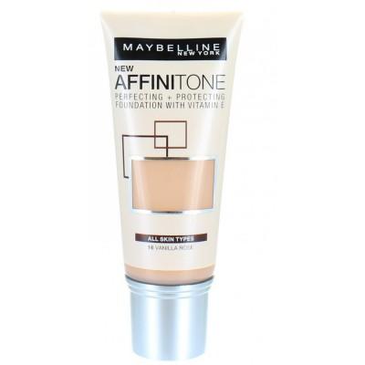 Image of   Maybelline Affinitone Foundation 16 Vanilla Rose 30 ml