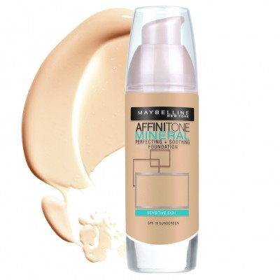 Image of   Maybelline Affinitone Mineral Foundation 50 Sun Bronze 30 ml