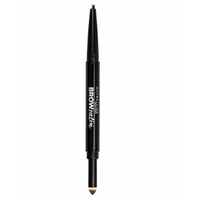 Maybelline Brow Satin Duo Pencil Dark Brown 1 stk