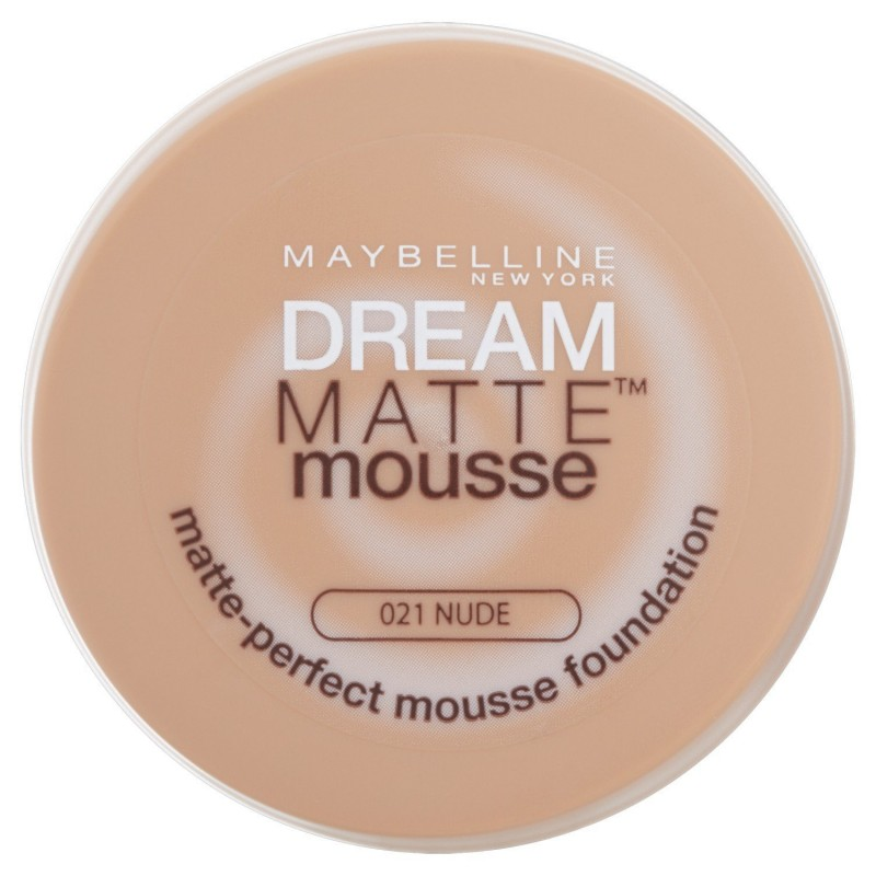 Maybelline Dream Matte Mousse Foundation 021 Nude 18 ml