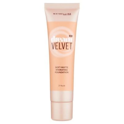 Image of   Maybelline Dream Velvet Foundation 21 Nude 30 ml