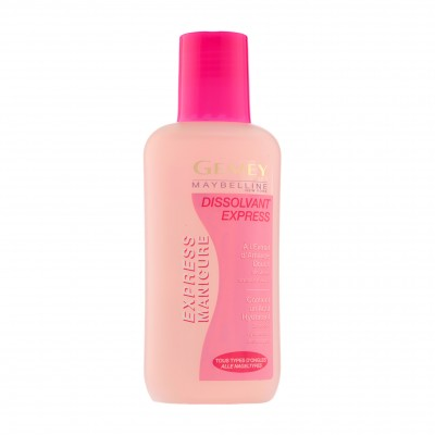 Image of   Maybelline Express Manicure Nail Polish Remover 125 ml