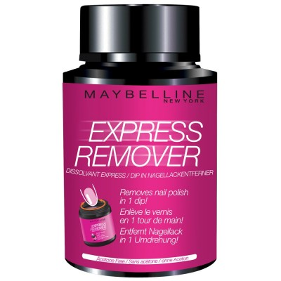 Image of   Maybelline Express Nail Polish Remover 75 ml
