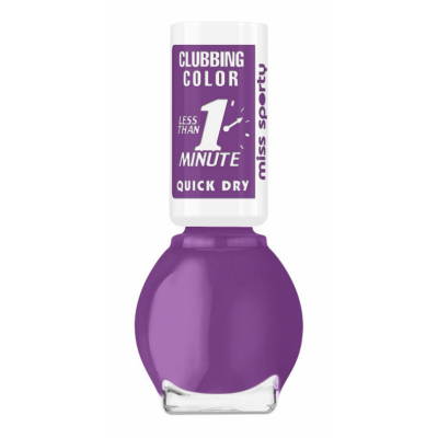 Image of   Miss Sporty Clubbing Colour Quick Dry Nail Polish 200 7 ml