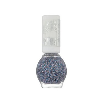 Image of   Miss Sporty Nailpolish Sparkle Touch 888 Silver 7 ml