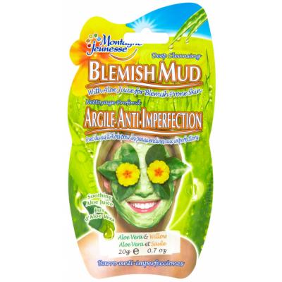 Montagne Jeunesse Mud Mask Cleanse Aloe Vera 1 stk