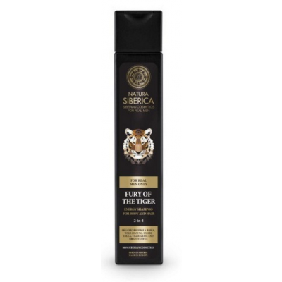 Natura Siberica Men Fury Of The Tiger 2in1 Shampoo 250 ml