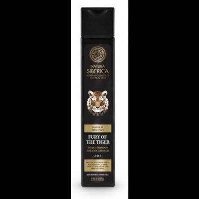 Natura Siberica Men Fury Of The Tiger 2in1 Shampoo 250 ml