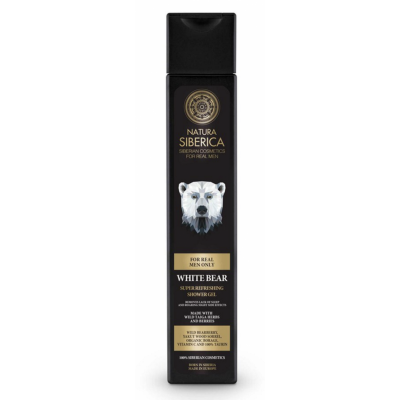 Natura Siberica Men White Bear Shower Gel 250 ml