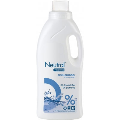 Neutral Koncentreret Skyllemiddel 1000 ml