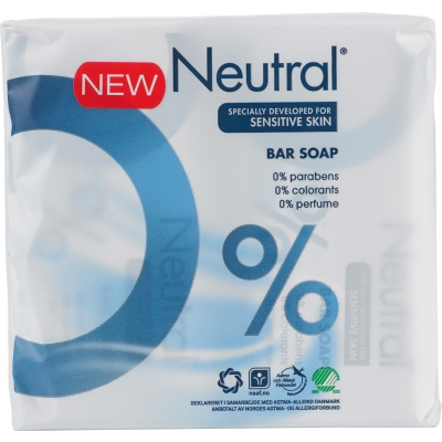 Neutral Soap Bars 2 x 100 g