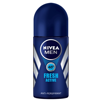 Nivea Men Fresh Active Roll On Deo 50 ml