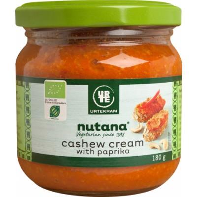 Nutana Cashew Cream Paprika Øko 180 g