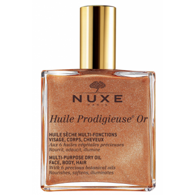 Nuxe Huile Prodigieuse Multi-Usage Dry Oil Golden Shimmer 100 ml