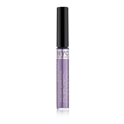 Image of   NYC Metallic Liquid Eyeliner 862 Serpetine Purple 7 ml
